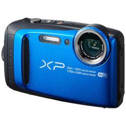 防水コンパクトデジタルカメラ FinePix(ファインピクス) XP120(ブルー) XP120 ブルー [防水+防塵+耐衝撃]