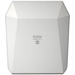 〔iOS/Androidアプリ〕 「スマホdeチェキ」 「instax SHARE SP-3」(ホワイト)
