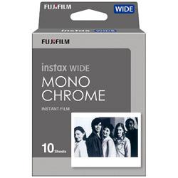 インスタントフィルム instax WIDE用モノクロフィルム 1パック(10枚入)