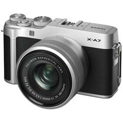 X-A7・XC15-45レンズキット シルバー [FUJIFILM Xマウント] ミラーレスカメラ