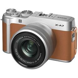 X-A7・XC15-45レンズキット キャメル [FUJIFILM Xマウント] ミラーレスカメラ