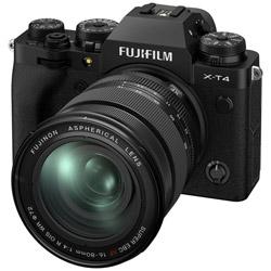 X-T4-B ミラーレス一眼カメラ XF16-80mmレンズキット  ブラック  [ズームレンズ]