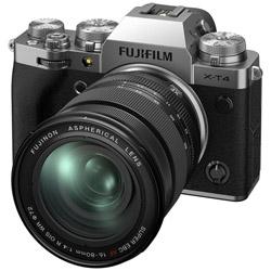 X-T4-S ミラーレス一眼カメラ XF16-80mmレンズキット  シルバー  [ズームレンズ]