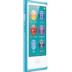 iPod nano【第7世代】16GB(ブルー)MD477J/A   [16GB]