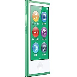 iPod nano【第7世代】16GB(グリーン)MD478J/A