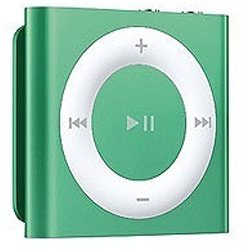 iPod shuffle【第4世代】2GB(グリーン)MD776J/A