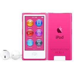 iPod nano 【第7世代 2015年モデル】 16GB ピンク MKMV2J/A   [16GB]