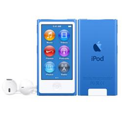 iPod nano 【第7世代 2015年モデル】 16GB ブルー MKN02J/A   [16GB]