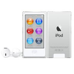iPod nano 【第7世代 2015年モデル】 16GB  シルバー MKN22J/A   [16GB]