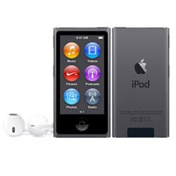 iPod nano 【第7世代 2015年モデル】 16GB スペースグレイ MKN52J/A   [16GB]