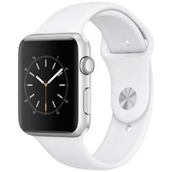 Apple(アップル) Apple Watch Series 1 42mm シルバーアルミニウムケースとホワイトスポーツバンド MNNL2J/A
