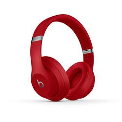 Beats by Dr. Dre 【在庫限り】 ブルートゥースヘッドホン STUDIO3 Wireless レッド MQD02PA/A [Bluetooth /ノイズキャンセリング対応]