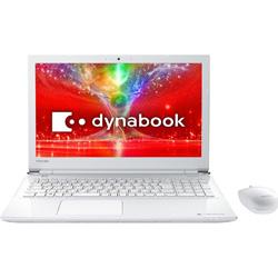 東芝(TOSHIBA) 【在庫限り】 15.6型ノートPC[Office付き・Win10 Home・Celeron・HDD 1TB] dynabook T45/EW リュクスホワイト PT45EWP-SJA