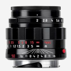 APO-Summicron-M 50mm f/2 ASPH. LHSA Black Paint 11186