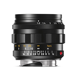 カメラレンズ ノクティルックス M f1.2/50mm ASPH. ブラックアルマイト    [ライカM /単焦点レンズ]