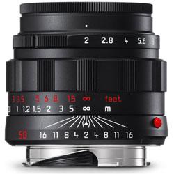 カメラレンズ M F2/50mm ASPH. APO-SUMMICRON(アポ・ズミクロン) ブラッククローム 11811 [ライカM /単焦点レンズ]