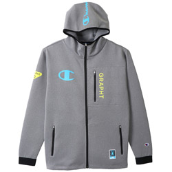 Champion Team GRAPHT GAMING HOODIE Gray