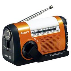 SONY(ソニー) ICF-B09 携帯ラジオ オレンジ [防滴ラジオ /AM/FM /ワイドFM対応]