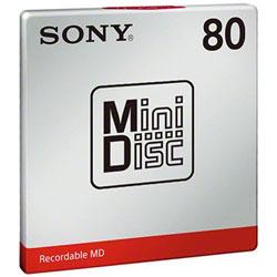 ミニディスク(80分・1枚パック) MDW80T