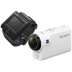 SONY(ソニー) HDR-AS300R アクションカメラ ライブビューリモコンキット [フルハイビジョン対応 /防水+防塵+耐衝撃 /光学式(空間光学方式、アクティブモード搭載)]