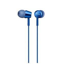MDR-EX155 ブルー MDR-EX155LIQ カナル型イヤホン