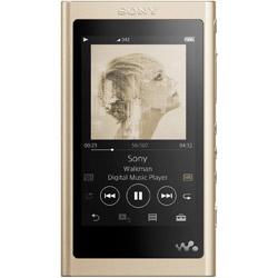 ソニー(SONY) ハイレゾウォークマン WALKMAN Aシリーズ 2018年モデル[イヤホンは付属していません] NW-A55 NM ゴールド [16GB /ハイレゾ対応]