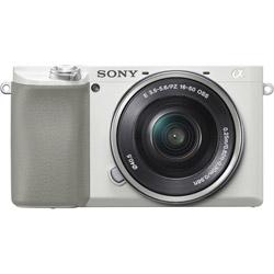 α6100 パワーズームレンズキット ILCE-6100L W ホワイト [ソニーEマウント(APS-C)] ミラーレスカメラ