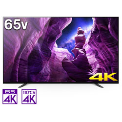 有機ELテレビ BRAVIA  KJ-65A8H [65V型 /4K対応 /BS・CS 4Kチューナー内蔵 /YouTube対応]