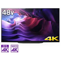 有機ELテレビ BRAVIA(ブラビア)  KJ-48A9S [48V型 /4K対応 /BS・CS 4Kチューナー内蔵 /YouTube対応 /Bluetooth対応]