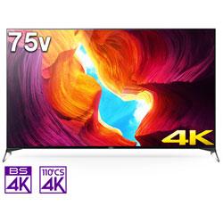 液晶テレビ BRAVIA(ブラビア)  KJ-75X9500H [75V型 /4K対応 /BS・CS 4Kチューナー内蔵 /YouTube対応 /Bluetooth対応]