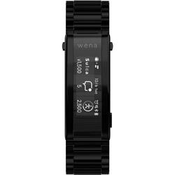 【Suica対応】wena 3 metal Premium Black  ブラック WNW-B21A/B