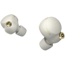 SONY(ソニー) フルワイヤレスイヤホン  プラチナシルバー WF1000XM4 SM [リモコン・マイク対応 /ワイヤレス(左右分離) /Bluetooth /ハイレゾ対応 /ノイズキャンセリング対応]