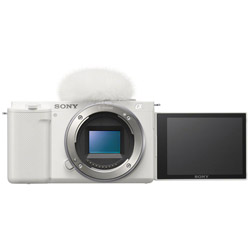 SONY(ソニー) VLOGCAM ZV-E10 ミラーレス一眼カメラ  ホワイト  [ボディ単体]