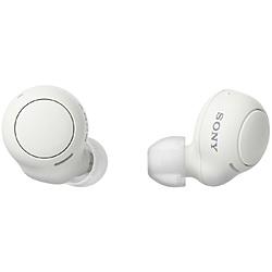 SONY(ソニー) フルワイヤレスイヤホン  ホワイト WF-C500 WZ [マイク対応 /ワイヤレス(左右分離) /Bluetooth]