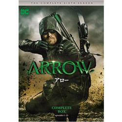 ARROW/アロー<シックス・シーズン>コンプリート・ボックス DVD