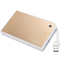 MOBILE BOX USB3.0接続 SATA6G 2.5インチHDD/SSDケース (CMB25U3GD6G)