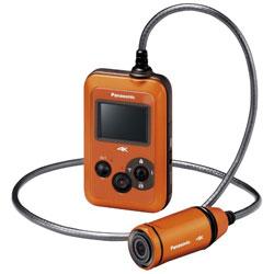 HX-A500 オレンジ[防水+防塵]アクションカメラ