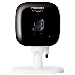 Panasonic(パナソニック) ホームネットワークシステム 「スマ@ホーム システム」 屋内カメラ KX-HJC200-W ホワイト