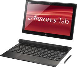 ノートPC ARROWS Tab QH77/M [Office付き] FARQ77M (2013年モデル・ブラック)