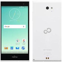 【クリックで詳細表示】[LTE対応]SIMフリー Android 5.1スマートフォン「arrows M02・ホワイト」 5.0型(ストレージ/メモリ:16GB/2GB) FARM06007