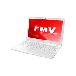 富士通(FUJITSU) ノートPC LIFEBOOK AH50/C3 FMVA50C3WP プレミアムホワイト [Win10 Home・Core i7・15.6インチ・Office付き]