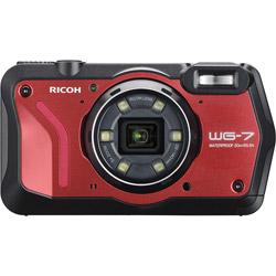 RICOH(リコー) WG-7 コンパクトデジタルカメラ  レッド  [防水+防塵+耐衝撃]