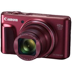 キヤノン(Canon) PowerShot SX720 HS レッド 高倍率ズームレンズ搭載デジタルカメラ パワーショット