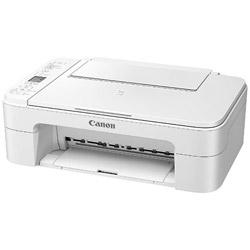 キヤノン(Canon) 【在庫限り】 PIXUS TS3130WH(ホワイト) A4インクジェット複合機 [無線LAN/USB2.0]