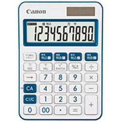 Canon(キヤノン) カラフル電卓(10桁) ミニ卓上 LS-105WUC-NV 【軽減税率対応】