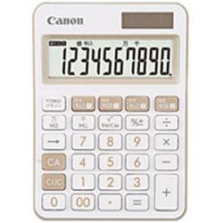 Canon(キヤノン) カラフル電卓(10桁) ミニ卓上 LS-105WUC-IV 【軽減税率対応】