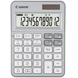 Canon(キヤノン) カラフル電卓(12桁) ミニ卓上 KS-125WUC-SL 【軽減税率対応】