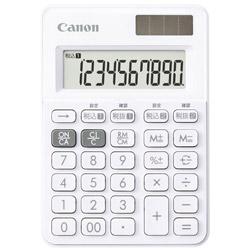 Canon(キヤノン) W税ミニミニ電卓 LS-100WT-SW 【軽減税率対応】