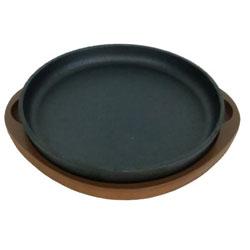 スプラウト 鉄鋳物製ステーキ皿 丸型(20cm)HB3056