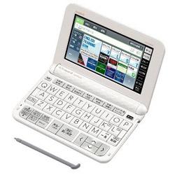 カシオ 電子辞書「エクスワード(EX-word)」(大学生・文系モデル・186コンテンツ搭載) XD-Z9800WE (ホワイト)
